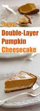 Pumpkin Layer Cheesecake by Double Layer Pumpkin Cheesecake Recipe From Fatfree Vegan Kitchen