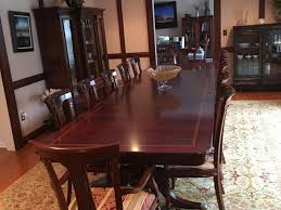 FOR SALE Solid Mahogany Dining Room Table 14 Chairs