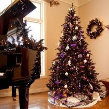 Black Christmas Tree Decorations 15 Ideas Preciosas Para Decorar Arbol De Navidad