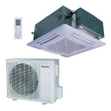 Ceiling Cassette For Mr Slim Mini Split by Gree Air Conditioners Air Conditioners U0026 Coolers The Home Depot