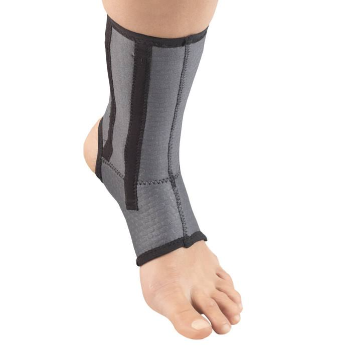 Champion Airmesh Ankle Support with Flexible Stays - Grey, Small