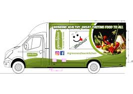 100 Green Food Truck Modern Colorful Car Wrap Design For Lean By SD