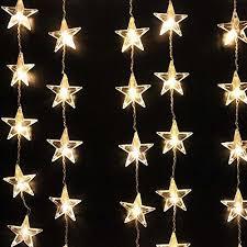christmas star light outdoor christmas decor