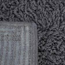 details zu badematte grau badezimmerteppich badvorleger rutschfest waschbar badteppich