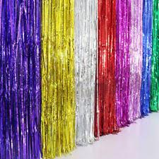 Foil Fringe Curtain Singapore by Tinsel Curtain Home U0026 Garden Ebay