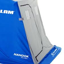 Clam Ice Fishing Seats by Clam 9714 Nanook 2 Person Ice Fishing Shelter With Padded Seats