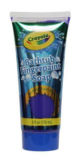crayola bathtub fingerpaint soap assorted colours walmart canada