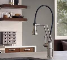 Articulating Arm Kitchen Faucet by Articulating Deck Mount Kitchen Faucet Best Faucets Decoration