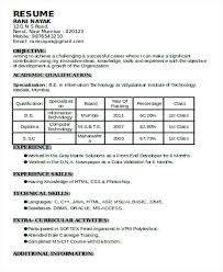 Experience On A Resume Sample For Bpo