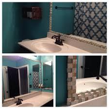 Mosaic Bathroom Mirror Diy by Bathroom Mirror Frame Using Mosaic Tiles My Diy Home Projects
