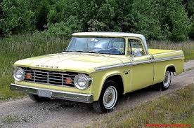 Vintage Dodge Pick Truck Parts