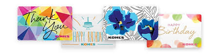 Gift Cards Kohl s Gift Cards & Gift Card Holders