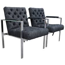 Sleek Pair Of Chrome Flat Bar Lounge Chairs Cool Lounge Fniture Outdoor Modular Bar Lounge Fniture Milo Baughman Style Cy Mann Mid Century Modern Flat Chrome Chairs Pair Of Vertical Hippy Chair And Stool Model Max 1 Bedroom Uk Rmjoy Of Parallel By F Knoll 1959s New Rattan Garden Bar Set Vita Rattan Table And Chairs For Balcony Or Terrace Dark Brown By 1970s Vintage A Rio De Janeiro Brazil March 17 2019 Poolside Living Room Inspirational Thayer Coggin