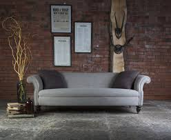 canapé chesterfield tissus canapé chesterfield bowmore en tissus tweed longfield 1880