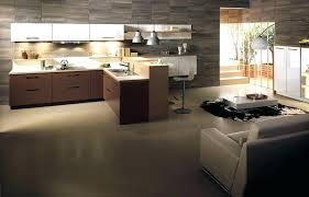 salon de cuisine modale de cuisine ouverte cuisine americaine avec ilot modele
