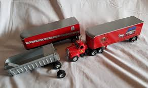 JOB LOT First Gear Truck Mack B61 Cab 3x Trailers FDNY Manitou 1/34 ... 1951 Ford Diecast Remington Dove Delivery Truck 1994 First Gear1 First Gear Mack Rmodel Dump Truck Wplow Dot Paystar Orange 134 No New Arrivals White On White Peterbilt Lowboy Truck With A Road Tech Diecast Of A Esl Timstoys1 Flickr Scale Mr W Custom Handbuilt Recycle Gear Transport Trucks 3 Amazoncom Waste Management Front End Loader Gainesville Center Die Cast Models Trucks In Ga Granite Redwhiteblue Irbic Toys Awesome Intertional Kb