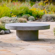 Raw Concrete Bench Raw Concrete Outdoor Furniture The