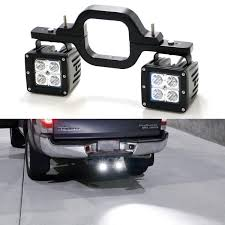 100 Hitches For Trucks Universal Truck SUV Trailer RV Tow Hitch LED Pod Fog Light Kit