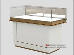 JS016 Modern Decoration Jewelry Display Cases Store Displays