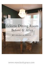 My Eclectic Dining Room Makeover Is Finally Finished And I Couldnt Be Happier With The Outcome Was Not High Priority On To Do List