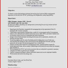 Criminal Justice Resume Objective Lovely Examples