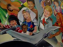 Denver Airport Murals Conspiracy Theory by 1301 Conspiracy Theories Leo Tanguma And Denver International