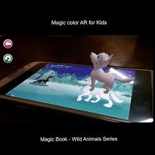 Aaaauuuuu Magicbook Magiccard Magiccolor Magiccolorarforkids Kongopublisherstudio Kids ChildrenKidsJakartaColoring