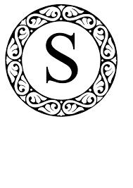 Monogram S Clip Art at Clker vector clip art online royalty