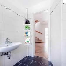 4 schicht punch freies badezimmer regale badezimmer wand bad wc dreieck waschen tisch lagerung küche organizer heißer hwc