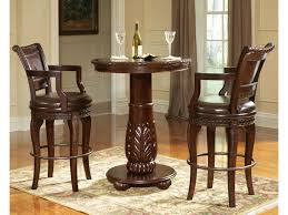 Steve Silver Antoinette 3-Piece Pedestal Pub Table & Bar ...