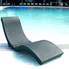 In Water Pool Lounge Chairs For Saltwater Pools Pictures Design
