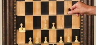 How To Make A Vertical Wall Mounted Chessboard