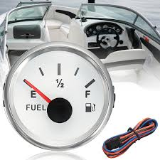 52mm Marine Fuel Gauge Boat Truck Oil Tank Level Indicator DC 932V ...