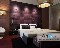 3D Wall Designs Bedroom