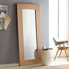 DIY Copy Cat West Elm Leaning Floor Mirror