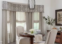Dining Room Window Treatment Curtains Treatments Budget Blinds Best Decor