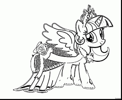 My Little Pony Coloring Pages Princess Twilight Sparkle Alicorn 5 D Castle 14f Excellent With Page