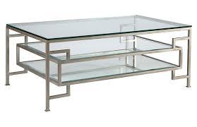 suspension coffee table argento silver artistica