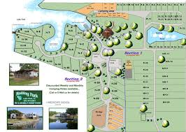 Rolling Fork RV Park And Mobile Home Parks Map Of