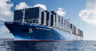 a bord du cma cgm bougainville le plus grand porte conteneurs