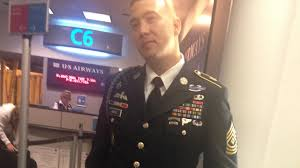 Most Decorated Us Soldiers In History by Passengers Flight Attendant Refused To Hang Army Ranger U0027s Uniform