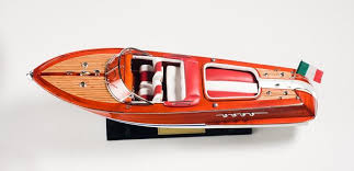 riva aquarama red white