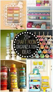 20 Craft Room Organization Ideas to help keep your craft room neat