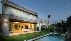 104 Beverly Hills Modern Homes Newly Built Gallery House In Is A State Of The Art Exhibit Of Its Own Accord