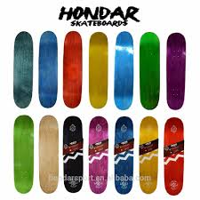 2017 high quality hard rock canadian maple 7 ply blank skateboard