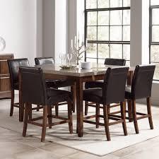 granite top high table dining room wayfair com dining room