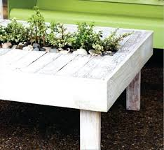 Good Outdoor Furniture Handmade Or Recycling Salvaged Wood For Coffee Table With Miniature Garden 77 Fresh