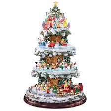 Thomas Kinkade Christmas Tree by The Peanuts Animated Christmas Tree Hammacher Schlemmer