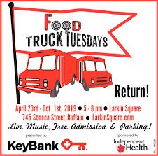 100 Truck Rental Buffalo Ny Food Tuesdays KeyBank NY