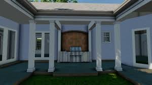 100 Sycamore House 360 Rendering In Sketchup